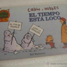 Cómics: CALVIN Y HOBBES 10 COLECCIÓN FANS. Lote 129721878