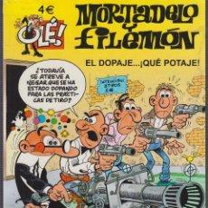 Comics : MORTADELO Y FILEMON Nº 177 EL DOPAJE... ¡QUÉ POTAJEL! - ED. EDICIONES B ( TAPA FINA ). Lote 54202286