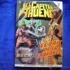 Cómics: EL CAPITAN TRUENO EDICION HISTORICA TOMO 2 RETAPADO (Nº 5, 6, 7 Y 8) EDICIONES B 1987 VICTOR MORA. Lote 54290713