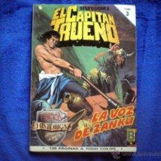 Cómics: EL CAPITAN TRUENO EDICION HISTORICA TOMO 3 RETAPADO (Nº 9, 10, 11 Y 12) EDICIONES B 1987 VICTOR MORA. Lote 54290750