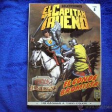 Cómics: EL CAPITAN TRUENO EDICION HISTORICA TOMO 5 RETAPADO (Nº 17, 18, 19 Y 20) ED B 1987 VICTOR MORA. Lote 54290833