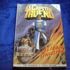 Cómics: EL CAPITAN TRUENO EDICION HISTORICA TOMO 7 RETAPADO (Nº 25, 26, 27 Y 28) ED B 1987 VICTOR MORA. Lote 54290929