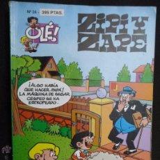 Cómics: ZIPI Y ZAPE. OLÉ Nº 24. EDICIONES B. Lote 54622395