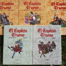 Cómics: EL CAPITÁN TRUENO. MORA, AMBRÓS, FUENTES MAN. COMPLETA, 6* VOLÚMENES. EDICIONES B.. Lote 54893629