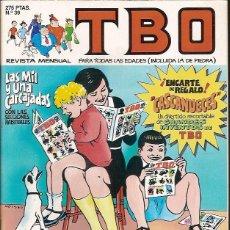 Cómics: REVISTA Nº 39 TBO EDICIONES B. Lote 54908208