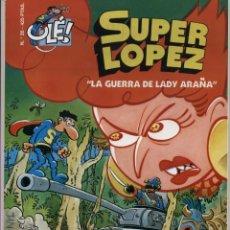 Cómics: SUPERLOPEZ - OLE 35 - LA GUERRA DE LADY ARAÑA - JAN - 1ª EDICION 2000 - SUPER LOPEZ. Lote 54952227
