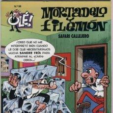 Cómics: MORTADELO Y FILEMON - OLE Nº 98 - SAFARI CALLEJERO - 1ª EDICION MARZO 1995. Lote 55025906