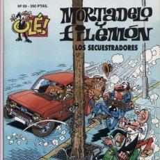 Cómics: MORTADELO Y FILEMON - OLE Nº 59 - LOS SECUESTRADORES - 1ª EDICION MARZO 1994. Lote 55026213