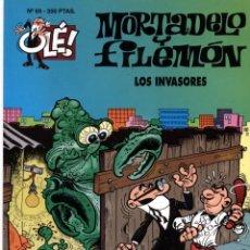 Cómics: MORTADELO Y FILEMON - OLE Nº 69 - LOS INVASORES - 1ª EDICION MAYO 1994. Lote 55026421