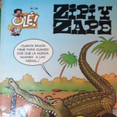 Cómics: ANTIGUO ZIPI Y ZAPE -Nº 34- *LA CHACHA MECÁNICA* TEBEO. Lote 55103428