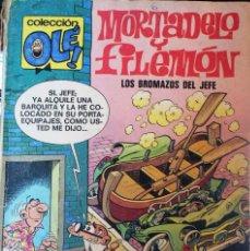 Cómics: COLECCIÓN OLÉ *MORTADELO Y FILEMÓN* -LOS BROMAZOS DEL JEFE-. Nº112. Lote 55110375