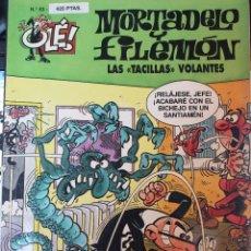 Cómics: MORTADELO Y FILEMÓN -LAS TACILLAS VOLANTES-. Nº 43. Lote 55110690