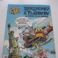 Cómics: MORTADELO Y FILEMÓN. OLE Nº 15 - LA ESTATUA DE LA LIBERTAD. EDICIONES B E6. Lote 76523871