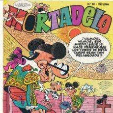 Comics: MORTADELO Nº 62. B. Lote 55777320