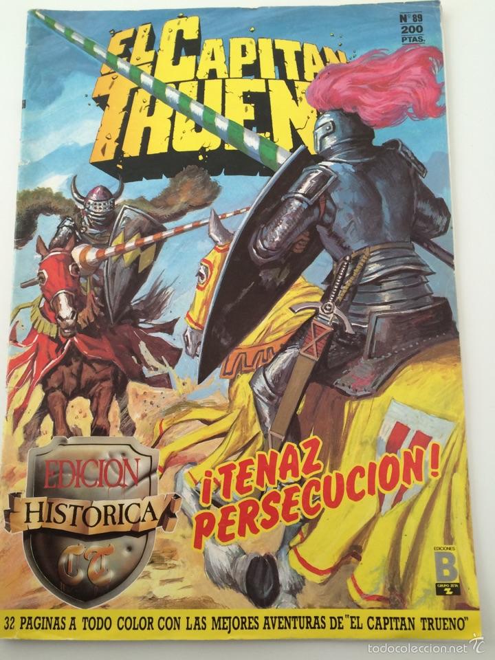 CAPITAN TRUENO N.89, EDICIONES B 1987 (Tebeos y Comics - Ediciones B - Otros)