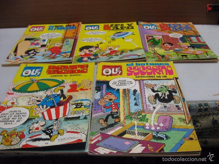 5 COLECCIÓN OLÉ, ROMPETECHOS,ZIPI Y ZAPE,BOTONES SACARINO, RUE DEL PERCEBE.1978-79.80 (Tebeos y Comics - Ediciones B - Humor)