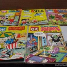 Cómics: 5 COLECCIÓN OLÉ, ROMPETECHOS,ZIPI Y ZAPE,BOTONES SACARINO, RUE DEL PERCEBE.1978-79.80. Lote 55934015