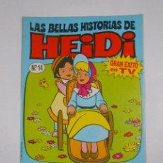 Cómics: LAS BELLAS HISTORIAS DE HEIDI Nº 14. UNA EXCURSION AL CAMPO. EDICIONES B. TDKC16. Lote 56199973