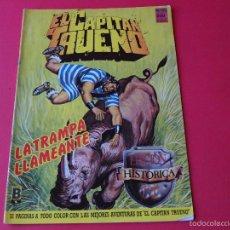 Cómics: EL CAPITÁN TRUENO Nº 60 - LA TRAMPA LLAMEANTE - EDICIÓN HISTÓRICA - EDICIONES B. Lote 56251000