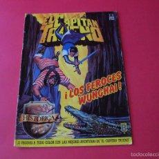 Cómics: EL CAPITÁN TRUENO Nº 124 - ¡LOS FEROCES WUNGHAI!- EDICIÓN HISTÓRICA - EDICIONES B. Lote 58142148