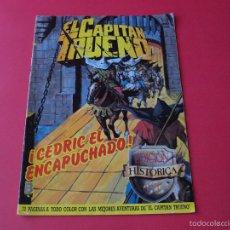 Cómics: EL CAPITÁN TRUENO Nº 126 - ¡CEDRIC EL ENCAPUCHADO!- EDICIÓN HISTÓRICA - EDICIONES B. Lote 56466840