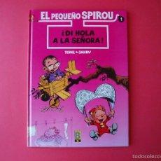 Cómics: EL PEQUEÑO SPIROU Nº 1 ¡DI HOLA A LA SEÑORA! - EDICIONES B - 1º ED. 1990 BE. Lote 56673251