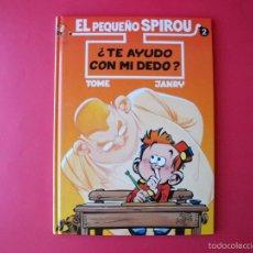 Cómics: EL PEQUEÑO SPIROU Nº 2 ¿TE AYUDO CON MI DEDO? - EDICIONES B - 2º ED. 1995 BE. Lote 56673355