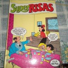 Cómics: SUPER RISAS N.º 8 RETAPADADO CON LOS COMICS. SUPE MORTADELO N.º 17 – 18 SUPER ZIPI ZAPE N,º 19 – 20 . Lote 56802785