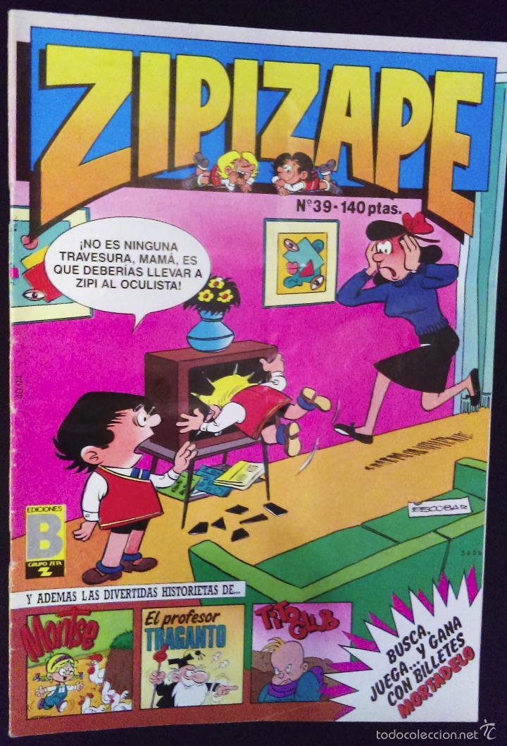 ZIPI Y ZAPE Nº 39 ED. B GRUPO Z 1987 (Tebeos y Comics - Ediciones B - Humor)