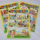 Cómics: TEBEO PULGARCITO NÚMERO 1 - MÁS NÚMERO 2 Y 14 - EDICIONES B 1987. Lote 56870951