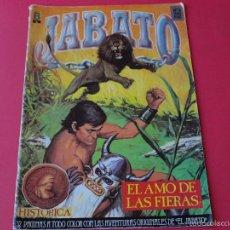 Cómics: JABATO NÚMERO 4 - EL AMO DE LAS FIERAS - EDICIÓN HISTÓRICA - EDICIONES B. Lote 57159846