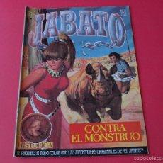 Cómics: JABATO NÚMERO 8 - CONTRA EL MONSTRUO - EDICIÓN HISTÓRICA - EDICIONES B. Lote 57159994