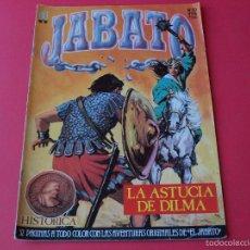 Cómics: JABATO NÚMERO 10 - LA ASTUCIA DE DILMA - EDICIÓN HISTÓRICA - EDICIONES B. Lote 57160095