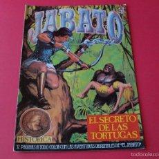 Cómics: JABATO NÚMERO 18 - EL SECRETO DE LAS TORTUGAS - EDICIÓN HISTÓRICA - EDICIONES B. Lote 57160144