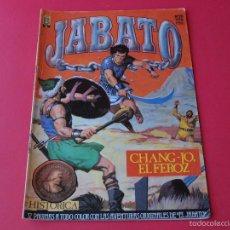 Cómics: JABATO NÚMERO 20 - CHANG-JO, EL FEROZ - EDICIÓN HISTÓRICA - EDICIONES B. Lote 57160240