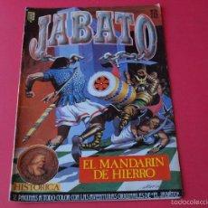 Cómics: JABATO NÚMERO 21 - EL MANDARIN DE HIERRO - EDICIÓN HISTÓRICA - EDICIONES B. Lote 57160288