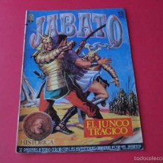 Cómics: JABATO NÚMERO 24 - EL JUNCO TRAGICO - EDICIÓN HISTÓRICA - EDICIONES B. Lote 57160580