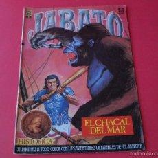 Cómics: JABATO NÚMERO 29 - EL CHACAL DEL MAR - EDICIÓN HISTÓRICA - EDICIONES B. Lote 57160745
