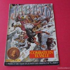 Cómics: JABATO NÚMERO 49 - COMBATE EN EL VALLE - EDICIÓN HISTÓRICA - EDICIONES B. Lote 57161898