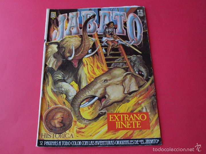 JABATO NÚMERO 50 - EXTRAÑO JINETE - EDICIÓN HISTÓRICA - EDICIONES B (Tebeos y Comics - Ediciones B - Clásicos Españoles)