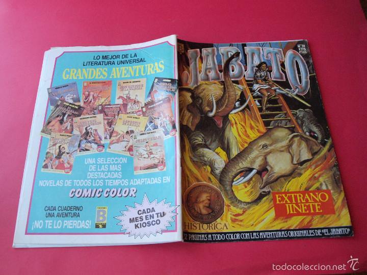 Cómics: JABATO NÚMERO 50 - EXTRAÑO JINETE - EDICIÓN HISTÓRICA - EDICIONES B - Foto 3 - 57161933