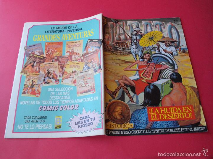 Cómics: JABATO NÚMERO 51 - ¡LA HUÍDA EN EL DESIERTO! - EDICIÓN HISTÓRICA - EDICIONES B - Foto 3 - 57161984
