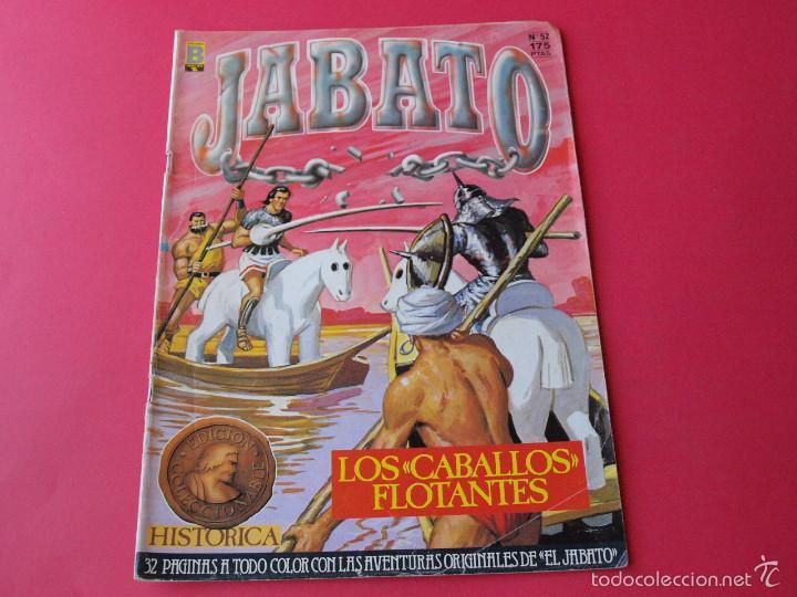 JABATO NÚMERO 52 - LOS CABALLOS FLOTANTES - EDICIÓN HISTÓRICA - EDICIONES B (Tebeos y Comics - Ediciones B - Clásicos Españoles)