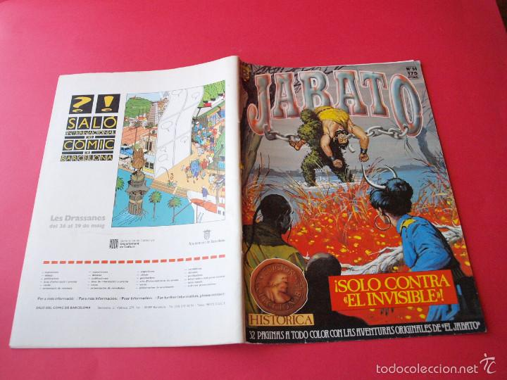 Cómics: JABATO NÚMERO 54 - ¡SÓLO CONTRA EL INVISIBLE! - EDICIÓN HISTÓRICA - EDICIONES B - Foto 3 - 57162092