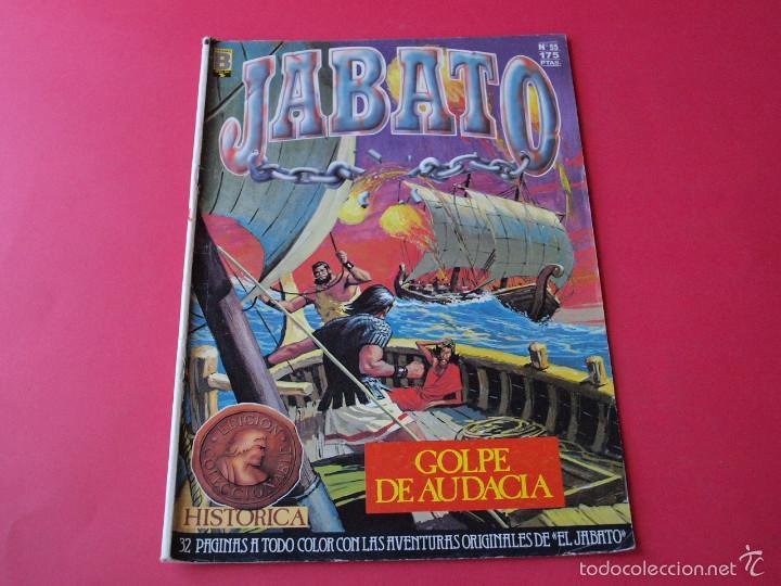 JABATO NÚMERO 55 - GOLPE DE AUDACIA - EDICIÓN HISTÓRICA - EDICIONES B (Tebeos y Comics - Ediciones B - Clásicos Españoles)