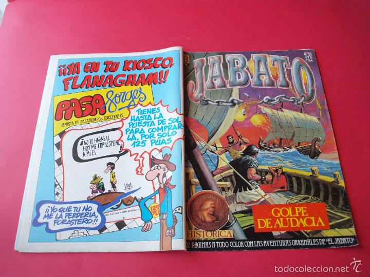 Cómics: JABATO NÚMERO 55 - GOLPE DE AUDACIA - EDICIÓN HISTÓRICA - EDICIONES B - Foto 3 - 57162115