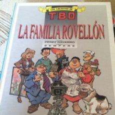 Cómics: LA FAMILIA ROVELLON-LOS ARCHIVOS DE TBO-TAPA DURA-NUEVO. Lote 57184105
