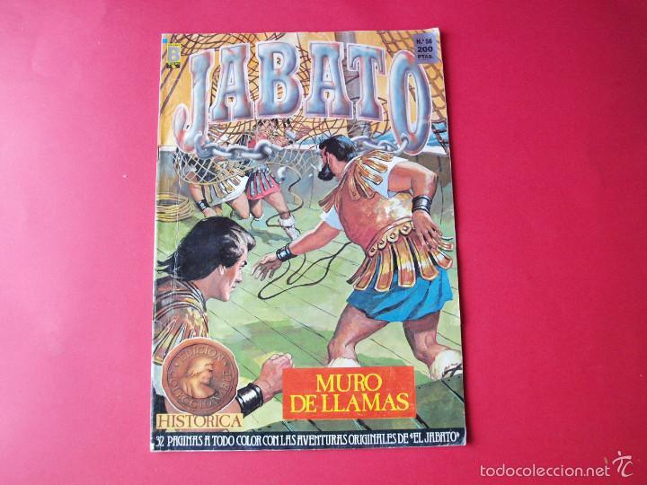 JABATO NÚMERO 56 - MURO DE LLAMAS - EDICIÓN HISTÓRICA - EDICIONES B (Tebeos y Comics - Ediciones B - Clásicos Españoles)