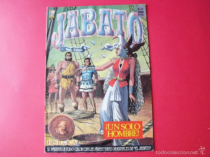 JABATO NÚMERO 57 - ¡UN SÓLO HOMBRE! - EDICIÓN HISTÓRICA - EDICIONES B (Tebeos y Comics - Ediciones B - Clásicos Españoles)