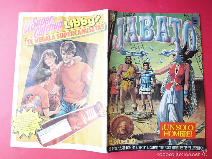 Cómics: JABATO NÚMERO 57 - ¡UN SÓLO HOMBRE! - EDICIÓN HISTÓRICA - EDICIONES B - Foto 3 - 57190386